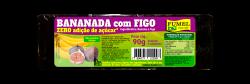 Bananada c/ Figo - Sem Açúcar - 90g.