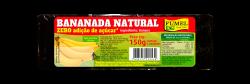 Bananada Natural - Sem Açúcar - 150g.
