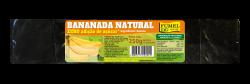 Bananada Natural - Pct 250g. - Sem Açúcar - 100% Fruta
