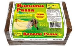 Banana Passa - Sem adição Açúcar - 500g