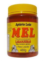 Mel Puro Laranjeiras - Apiário Leão - Pote 480g
