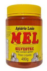 Mel Puro Silvestre - Apiário Leão - Pote 480g