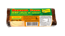 Banana Passa - Sem Açúcar - 85g