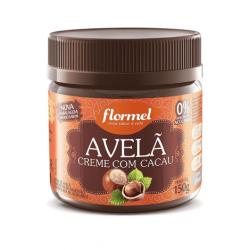 Creme de Avelã c/ Cacau Zero - Flormel 150g.